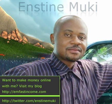 Interview : Enstine Muki of EmFastIncome – Founder of Cash Donator and EasyRetweet