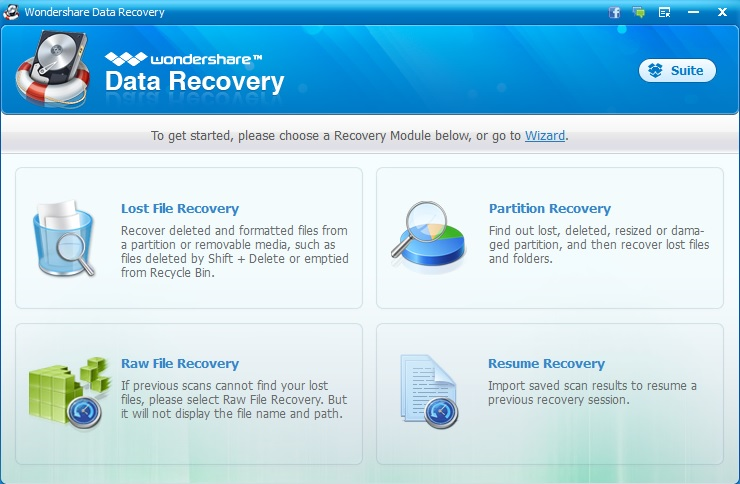 Review : Wondershare Data Recovery Software