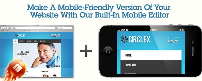 mobile friendly website builders