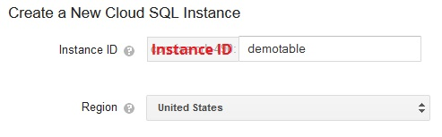google cloud sql