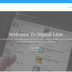 Launching Digital Lion – Promoting Digital Products and Services