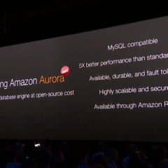 Amazon Launches Aurora Cloud Database