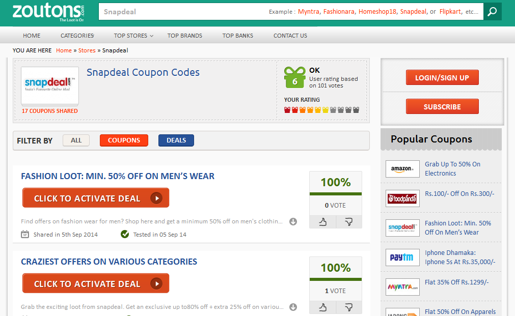 zoutons-snapdeal-deals-coupons