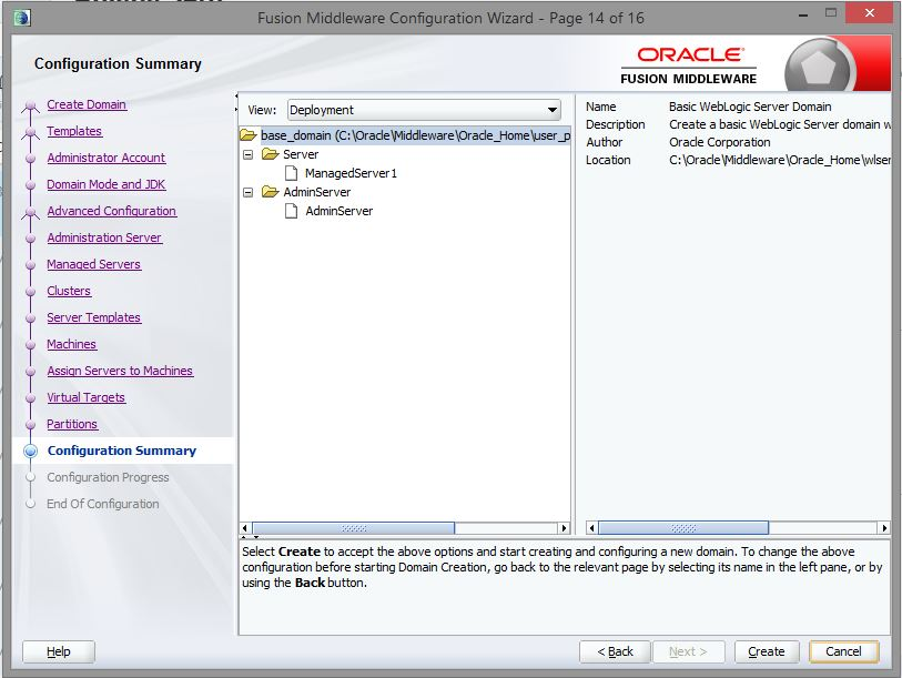 oracle web logic server