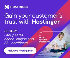 Hostinger 90% Off Sale