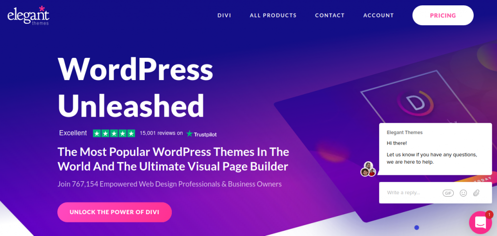 Divi by Elegant Themes